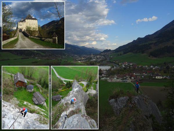 Klettersteig Burg : Traumhafte firnabfahrt am winterklettersteig burg outcozo