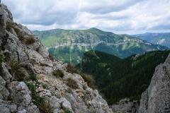 Das Zahme Gamseck führt überraschend einfach durch wilde Felsszenerien.
