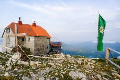 Ziel der ersten Etappe: das Schneealpenhaus.